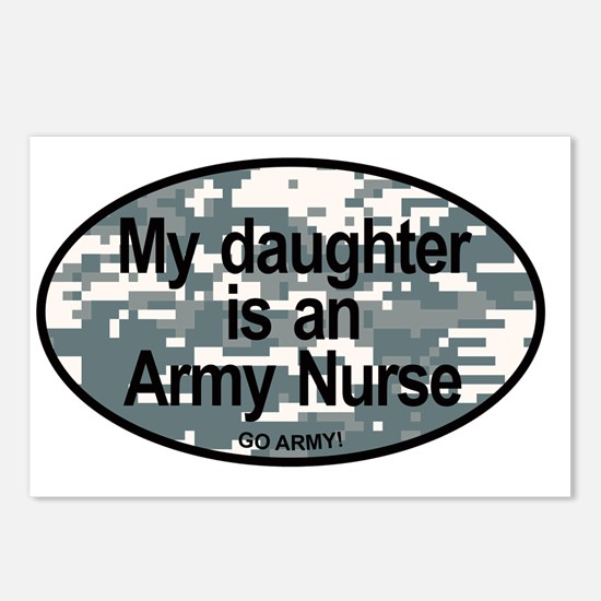 My Daughter Is An Army Nu Postcards (Package of 8)