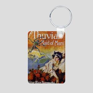 Thuvia Maid of Mars 1920 Aluminum Photo Keychain