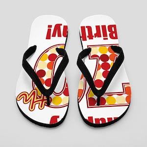 Happy 70th Birthday! Flip Flops