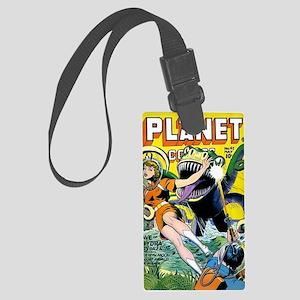 Planet Comics No 42 Large Luggage Tag