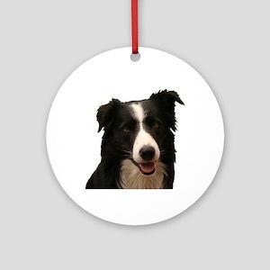 Border smile Ornament (Round)
