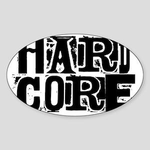 HARDCORE PUNK RANSOM Sticker (Oval)
