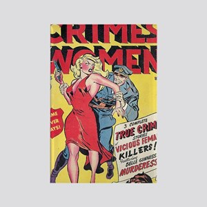 Crimes by Women Rectangle Magnet