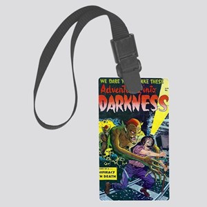 Adventures Into Darkness No 12 Large Luggage Tag