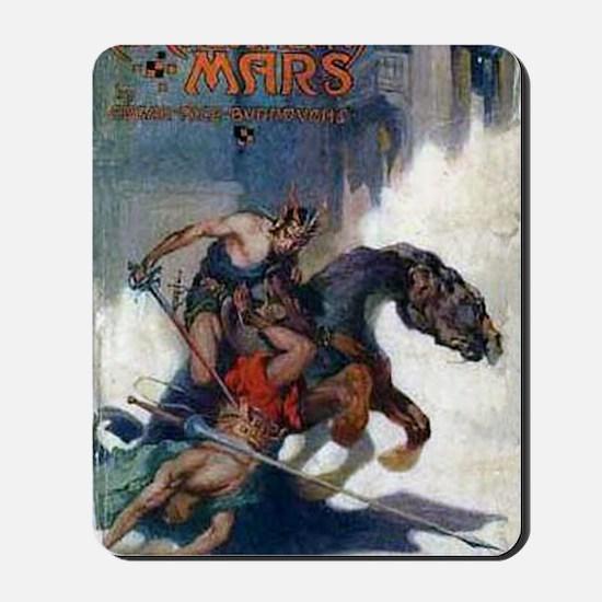 Chessmen of Mars 1922 Mousepad