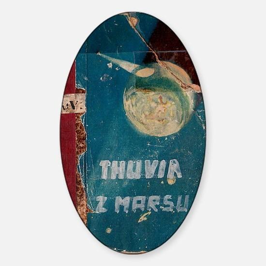 Thuvia Cover 1928 Sticker (Oval)