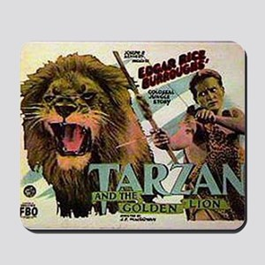 Tarzan and the Golden Lion Mousepad