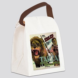 Tarzan and the Golden Lion Canvas Lunch Bag