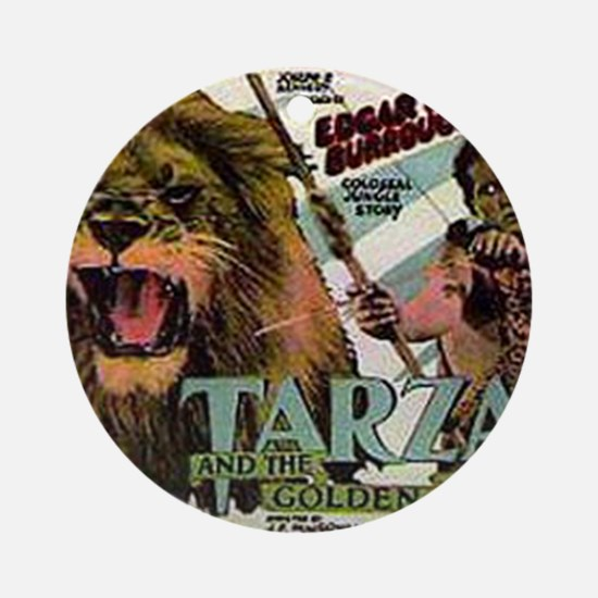 Tarzan and the Golden Lion Round Ornament