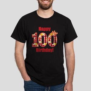 Happy 100th Birthday! Dark T-Shirt