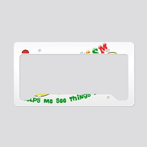 Autism Caterpillar License Plate Holder
