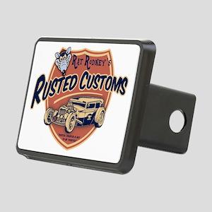 rat-rod-103-T Rectangular Hitch Cover