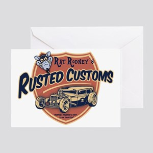 rat-rod-103-T Greeting Card