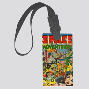 Space Adventures No 1 Large Luggage Tag
