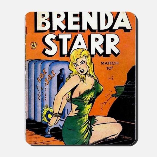 Brenda Starr Mousepad