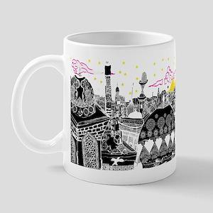 1001 arabian nights city skyline Mug