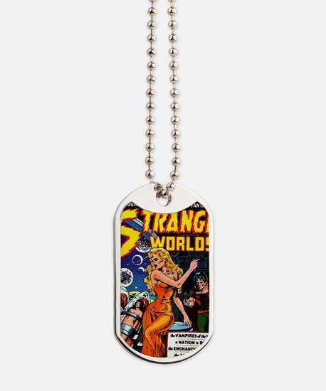 Strange Worlds No 4 Dog Tags