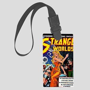 Strange Worlds No 4 Large Luggage Tag