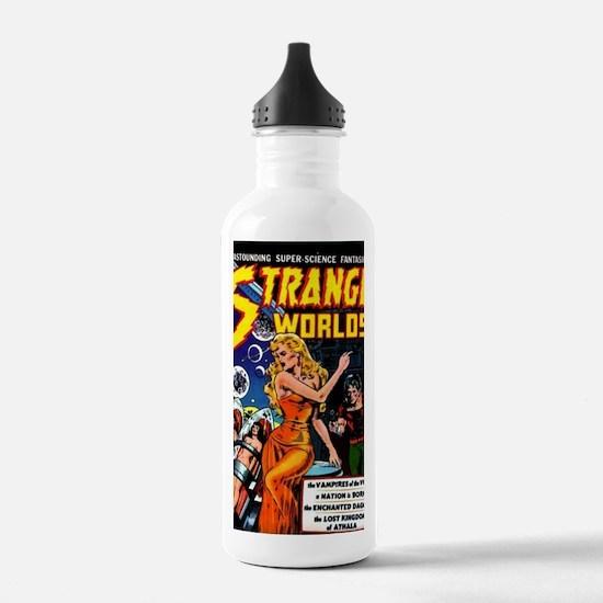 Strange Worlds No 4 Water Bottle