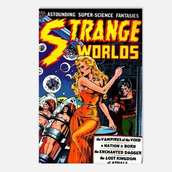 Strange Worlds No 4 Postcards (Package of 8)