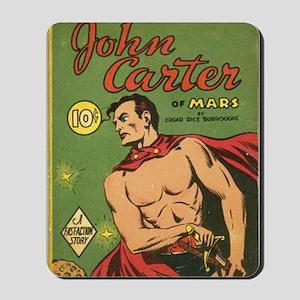 Big Little Book John Carter of Mars 1940 Mousepad