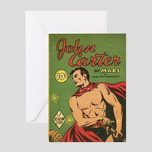 Big Little Book John Carter of Mars  Greeting Card