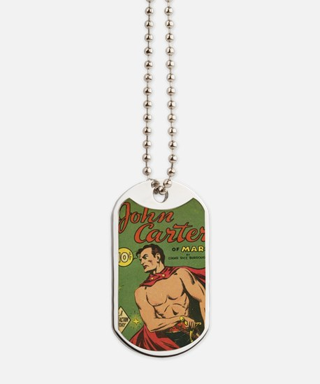 Big Little Book John Carter of Mars 1940 Dog Tags
