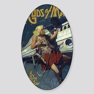 Gods of Mars 1918 Sticker (Oval)