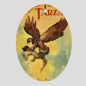 Jungle Tales of Tarzan Oval Ornament
