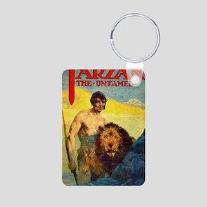 Tarzan the Untamed Aluminum Photo Keychain