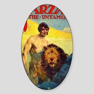 Tarzan the Untamed Sticker (Oval)