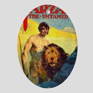 Tarzan the Untamed Oval Ornament