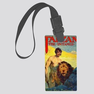 Tarzan the Untamed Large Luggage Tag