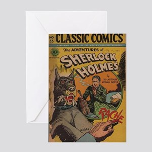 CC No 33 (The Adventures of Sherlock Greeting Card