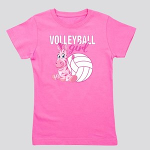 Volleyball Girl Girl's Tee
