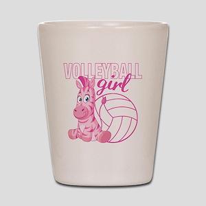 Volleyball Girl Shot Glass