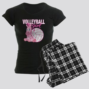 Volleyball Girl Women's Dark Pajamas