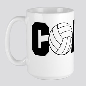 Volleyball Coach Large Mug