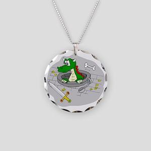How Original... Necklace Circle Charm