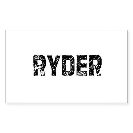Ryder Rectangle Sticker