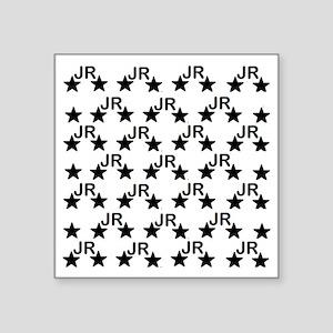 "JR couture Square Sticker 3"" x 3"""