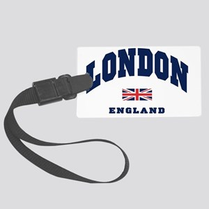 London England Union Jack Large Luggage Tag