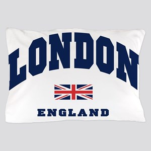 London England Union Jack Pillow Case