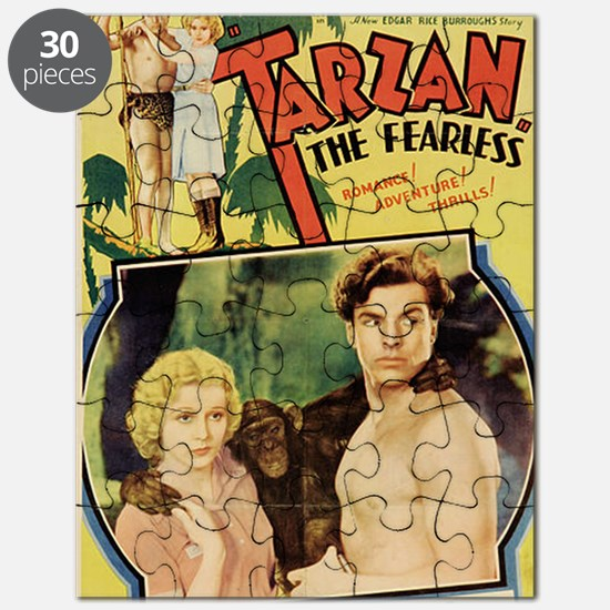 Tarzan the Fearless Puzzle