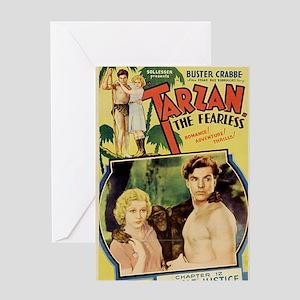 Tarzan the Fearless Greeting Card