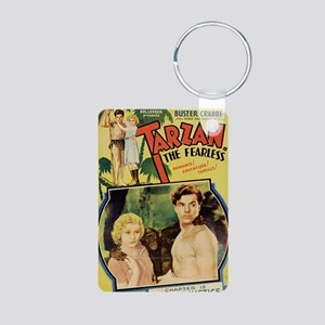 Tarzan the Fearless Aluminum Photo Keychain
