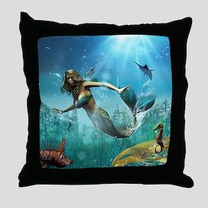 Glimpse Of Atlantis 2 Throw Pillow