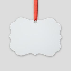 STRAIGHT EDGE LOGO Picture Ornament