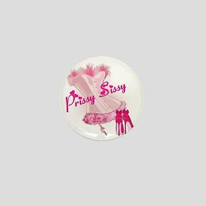 Prissy Sissy Corset Mini Button
