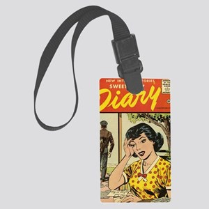 New Intimate Stories Sweetheart  Large Luggage Tag